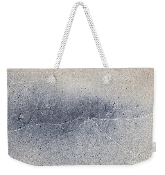 Wet Sand Abstract V Weekender Tote Bag