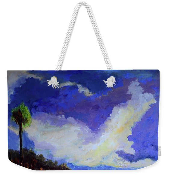 Wetlands Sky  Weekender Tote Bag