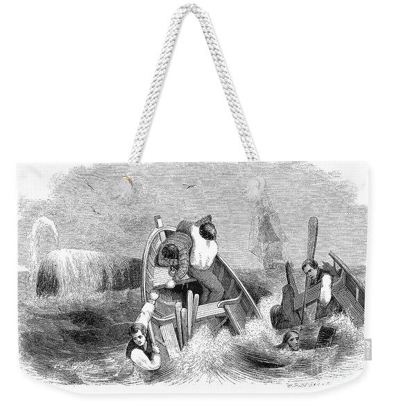 Whaling, C1830 Weekender Tote Bag