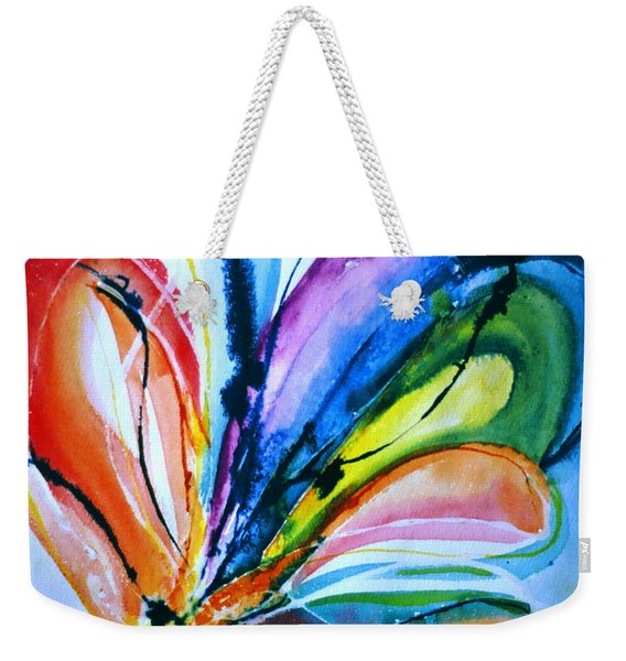What A Fly Dreams Weekender Tote Bag