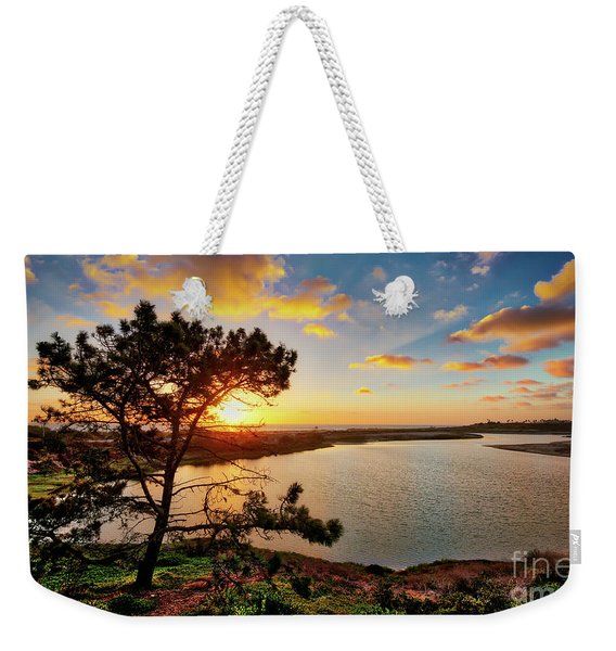 What A Glow At The Batiquitos Lagoon Weekender Tote Bag