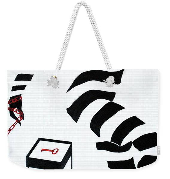 What Are You Waiting For? Weekender Tote Bag