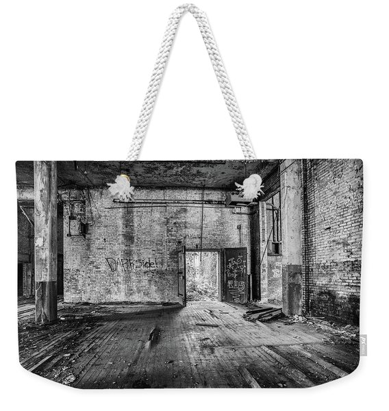 What Awaits Outside Weekender Tote Bag