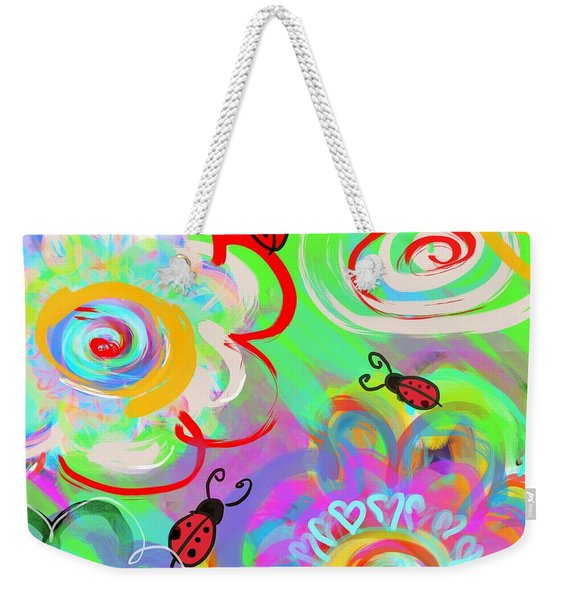 What Bugs Me Weekender Tote Bag