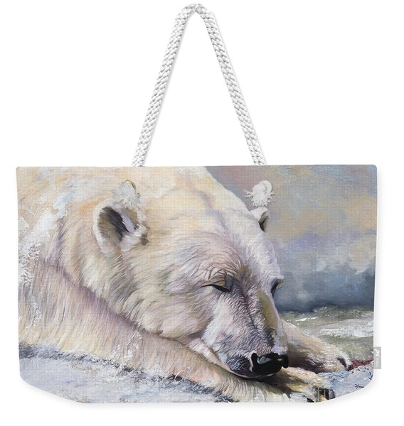 What Do Polar Bears Dream Of Weekender Tote Bag