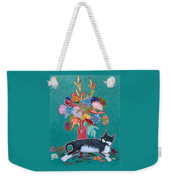 What Flowers Weekender Tote Bag