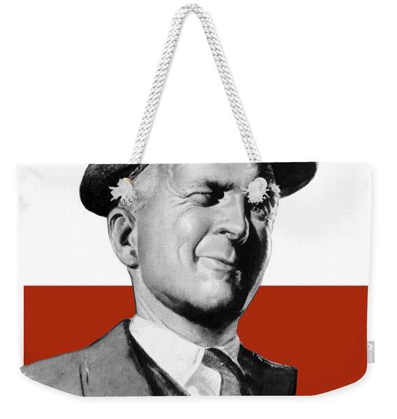 What I Know I Keep To Myself Weekender Tote Bag