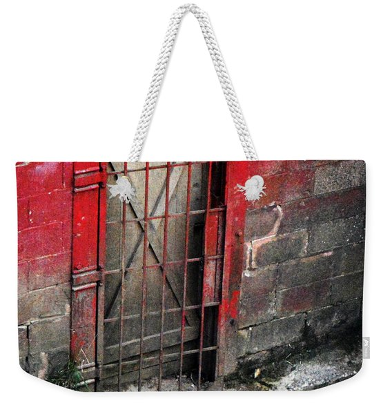 What Lies Behind The Door Weekender Tote Bag