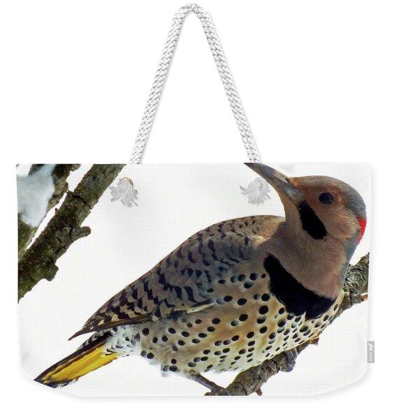 What Was That - Northern Flicker Weekender Tote Bag