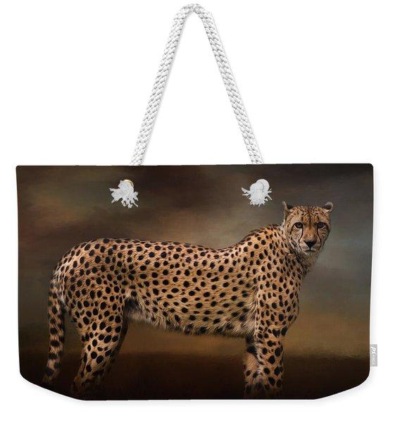 What You Imagine - Cheetah Art Weekender Tote Bag