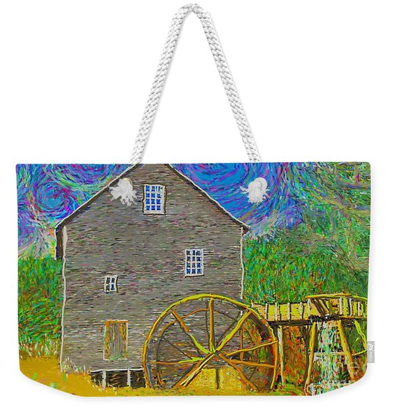 Water Wheel  Weekender Tote Bag