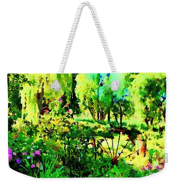 Wheel Garden Weekender Tote Bag