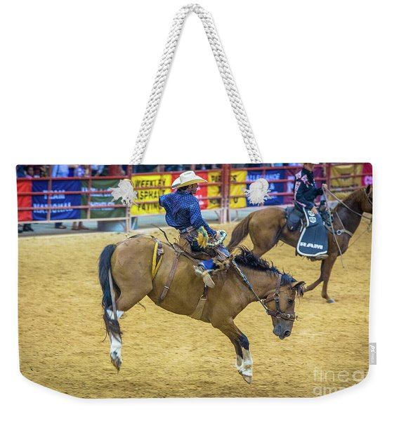When A Horse Tries Hard  Weekender Tote Bag
