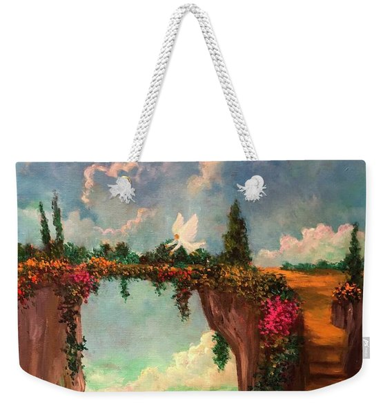 When Angels Garden In Heaven Weekender Tote Bag
