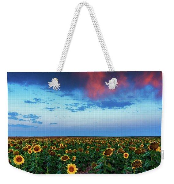 When Clouds Dance Weekender Tote Bag