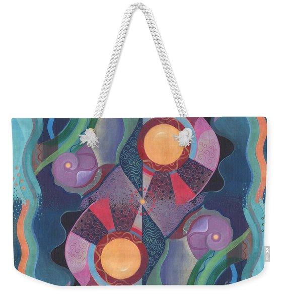 When Deep And Flow Met Weekender Tote Bag