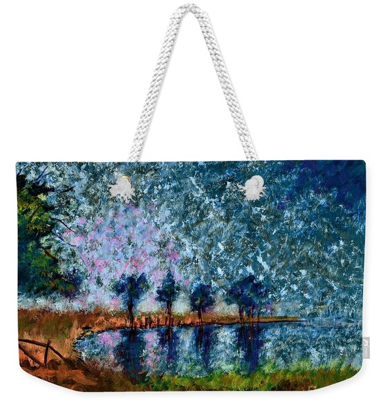 When Earth And Sky Become One  Weekender Tote Bag