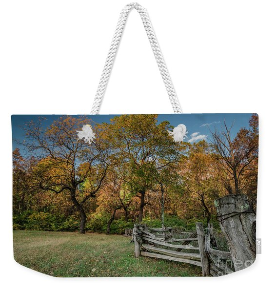 When First Unto This Country Weekender Tote Bag