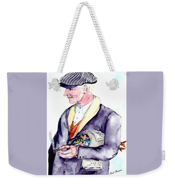 When Fish Were Wrapped In Newspaper Weekender Tote Bag