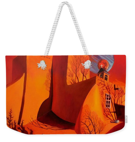 When Jupiter Aligns With Mars Weekender Tote Bag