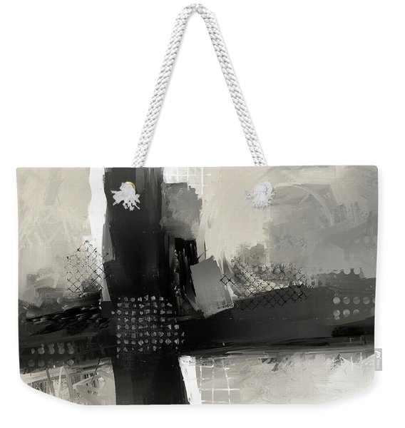 When Paths Cross Weekender Tote Bag