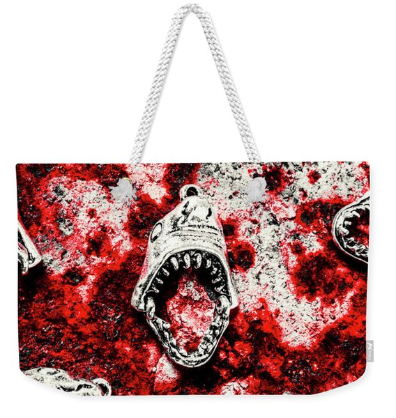 When Sharks Attack  Weekender Tote Bag