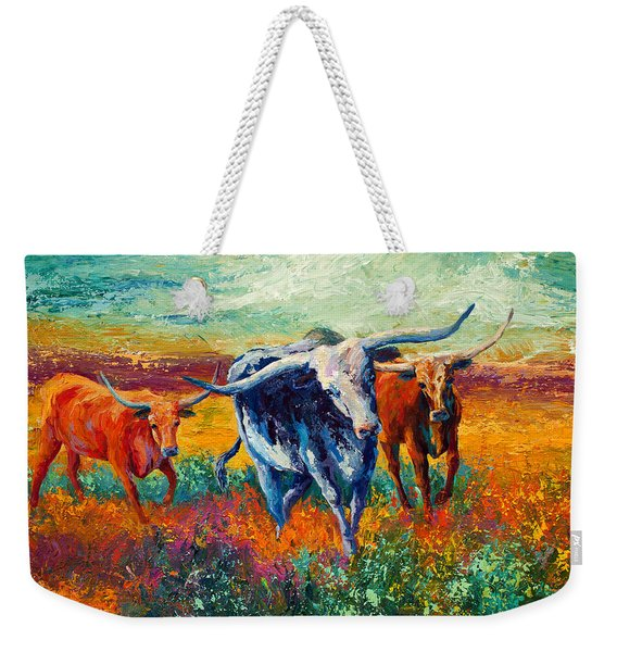When The Cows Come Home Weekender Tote Bag
