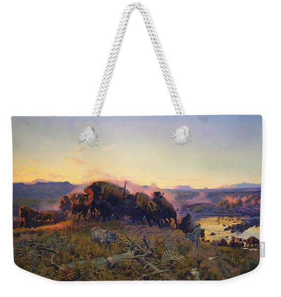 When The Land Belonged To God Weekender Tote Bag
