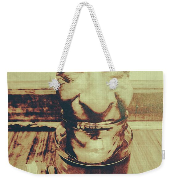 When The Monsters Come Out To Play Weekender Tote Bag