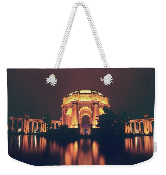 When The Night Calls Weekender Tote Bag