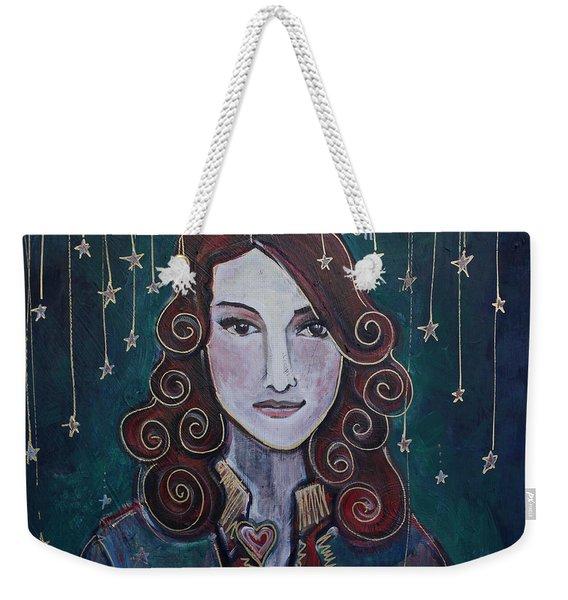 When The Stars Fall For Brandi Carlile Weekender Tote Bag