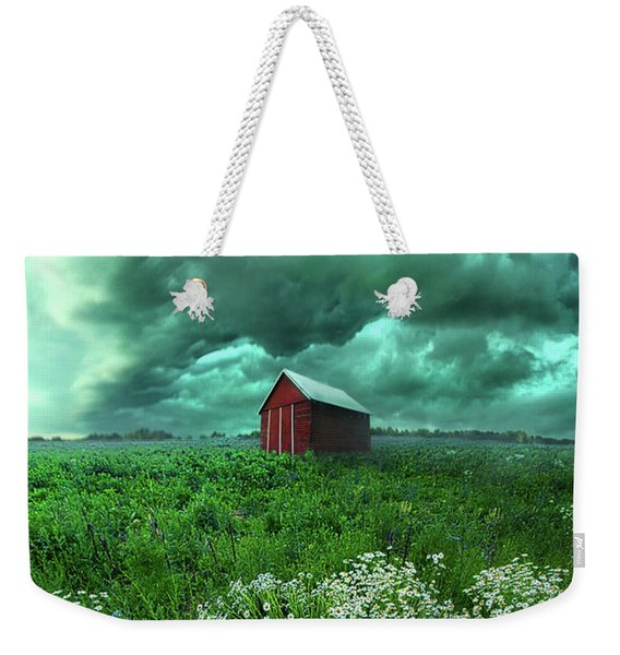 When The Thunder Rolls Weekender Tote Bag