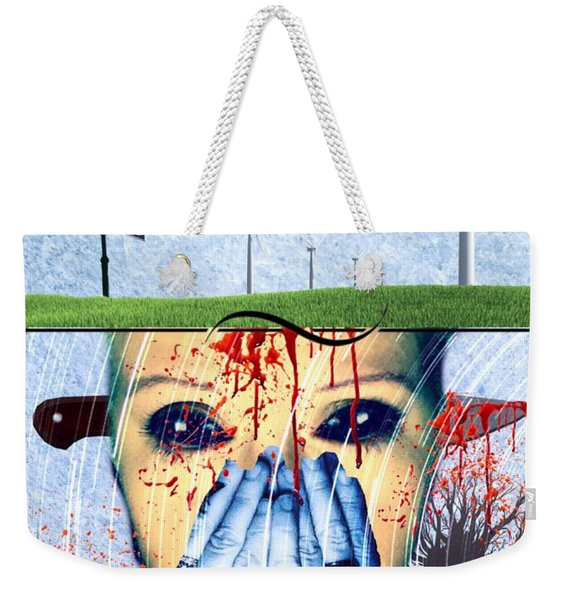 When They Take The Mind Weekender Tote Bag