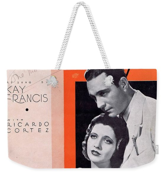 When Tomorrow Comes Weekender Tote Bag