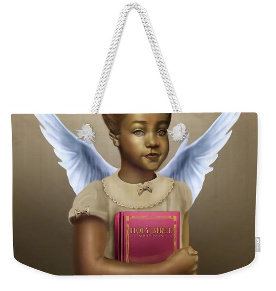 When We Were Angels Weekender Tote Bag
