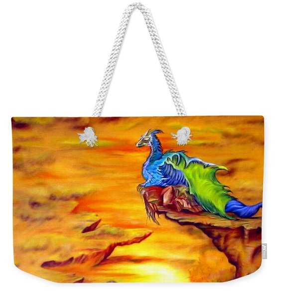 Dragons Valley Weekender Tote Bag