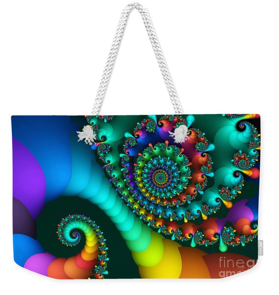 Where Rainbows Are Made Weekender Tote Bag