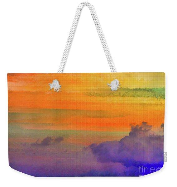 Where Rainbows Begin Weekender Tote Bag