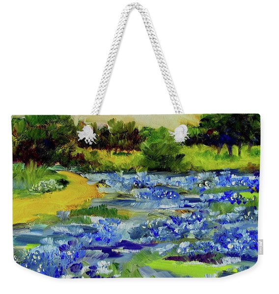 Where The Beautiful Bluebonnets Grow Weekender Tote Bag