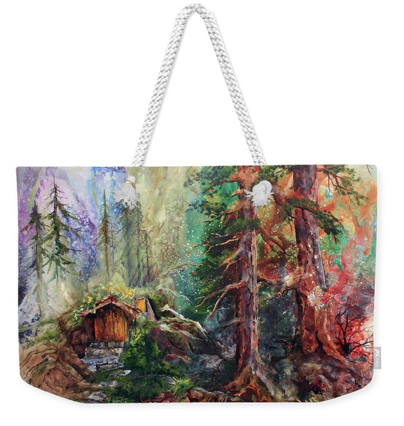 Where The Fairies Play Weekender Tote Bag