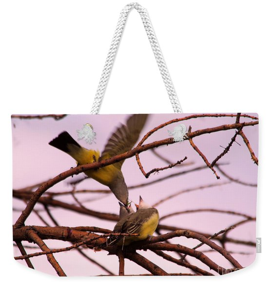 Where The Is Nature There Is Love Weekender Tote Bag