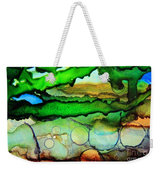 Where The Rivers Flow.. Weekender Tote Bag