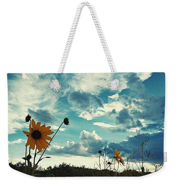 Where The Sunflowers Grow Weekender Tote Bag
