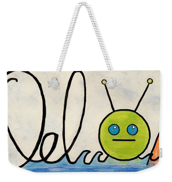 Where The Turf Meets The Surf Weekender Tote Bag