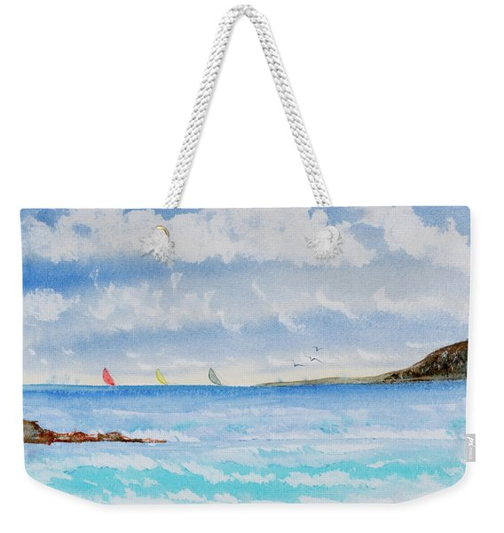 Where There's A Wind, There's A Race Weekender Tote Bag