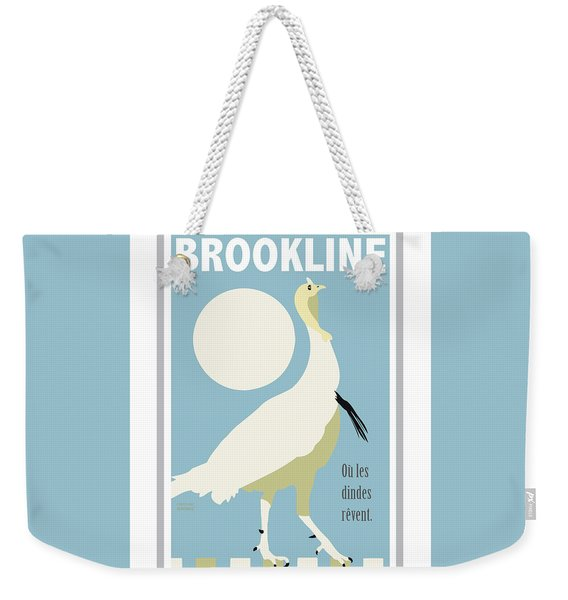Where Turkeys Dream Weekender Tote Bag