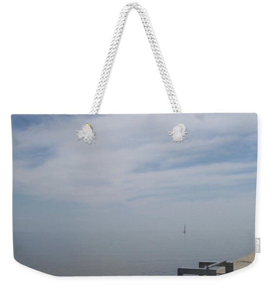 Where Water Meets Sky Weekender Tote Bag