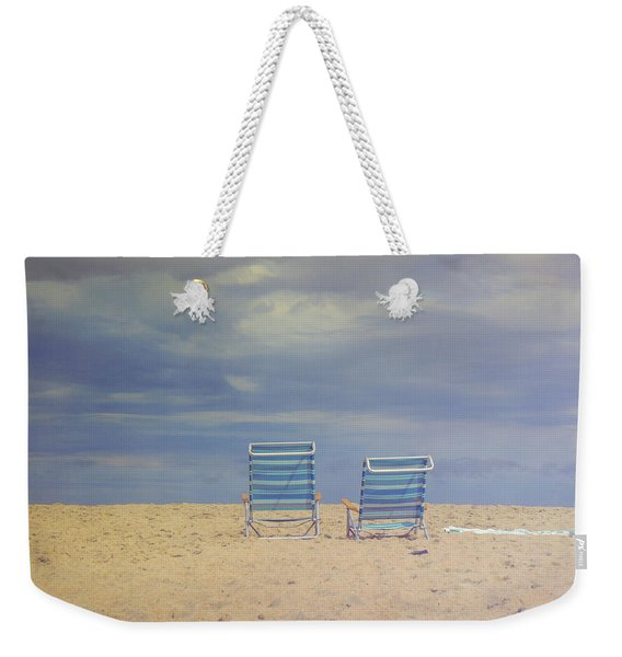 Weekender Tote Bag featuring the photograph Where We Are Together by JAMART Photography
