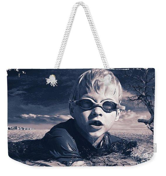 Where Will He Swim Tomorrow Weekender Tote Bag