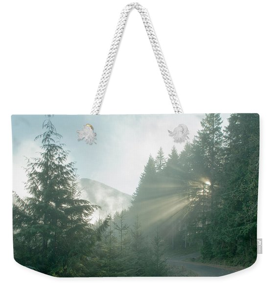Where Will Your Road Take You? Weekender Tote Bag